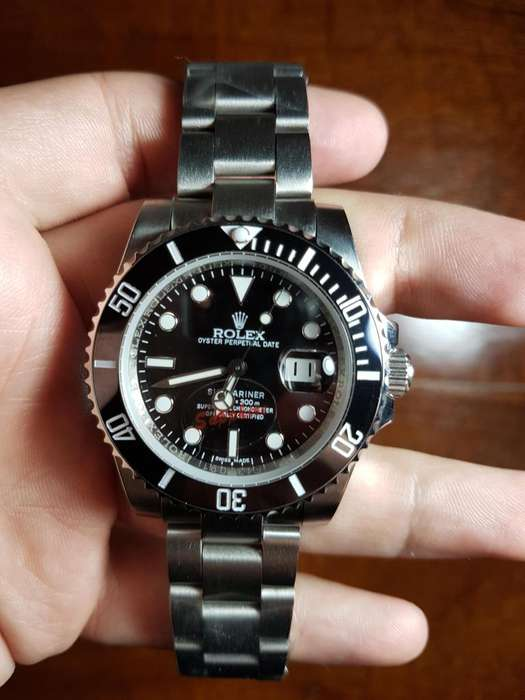 Reloj <strong>rolex</strong> Submariner Date 40 mm Automático Sumergible