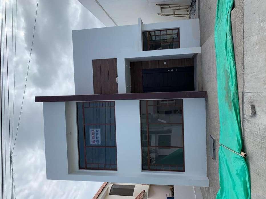 Renta de espectacular casa en Urb Manta Beach