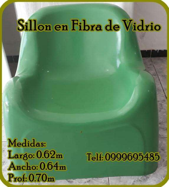 Sillon en Fibra de Vidrio