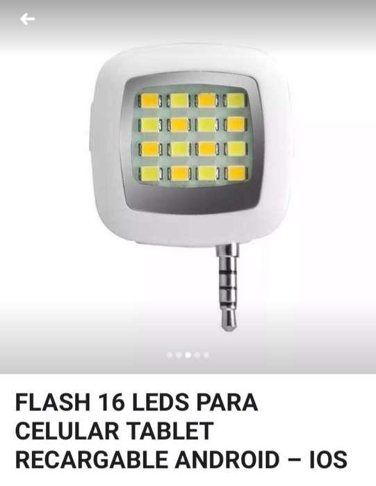 Flash Led Recargable