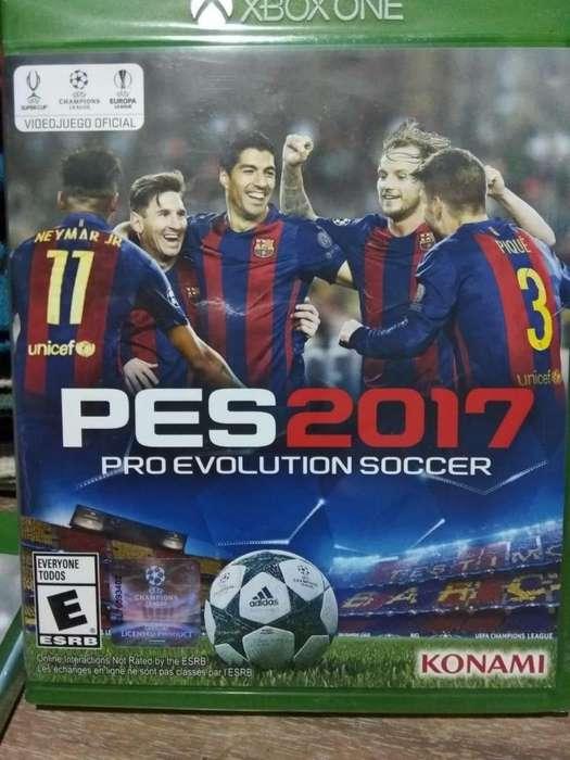 Pes 2017, Para Xbox One, Físico, Original, Nuevo Sellado. quilmes oeste
