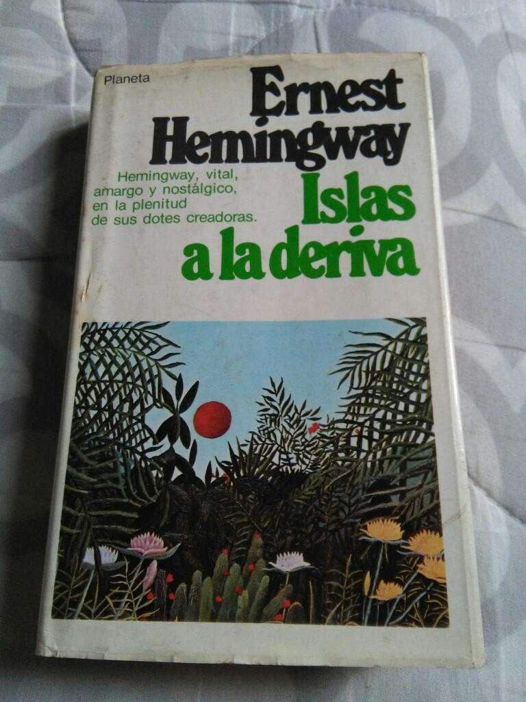 Islas a La Deriva . Ernest Hemingway Libro novela
