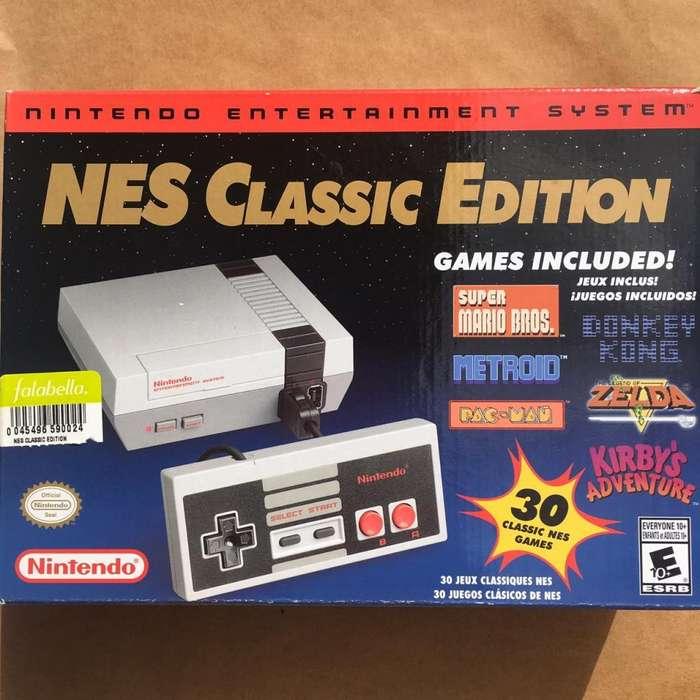 Nintendo NES Classic Mini 2 Controles. Todo Original.