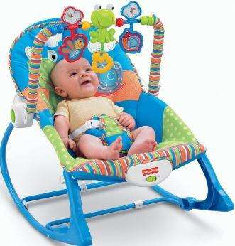 SILLA MECEDORA FISHER PRICE 3 EN 1