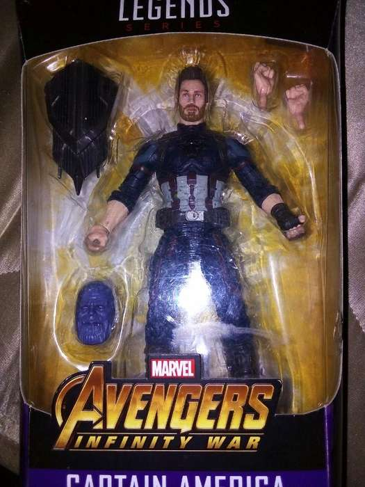 Capitan America Marvel Legens Negociable