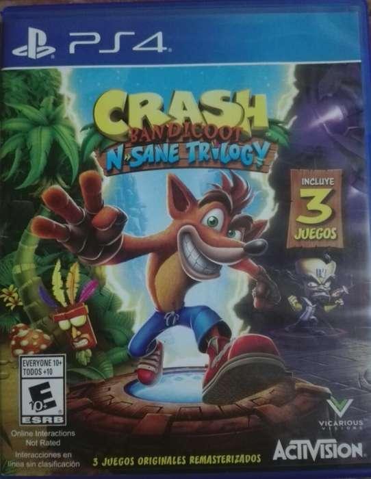 Crash Trilogy Ps4