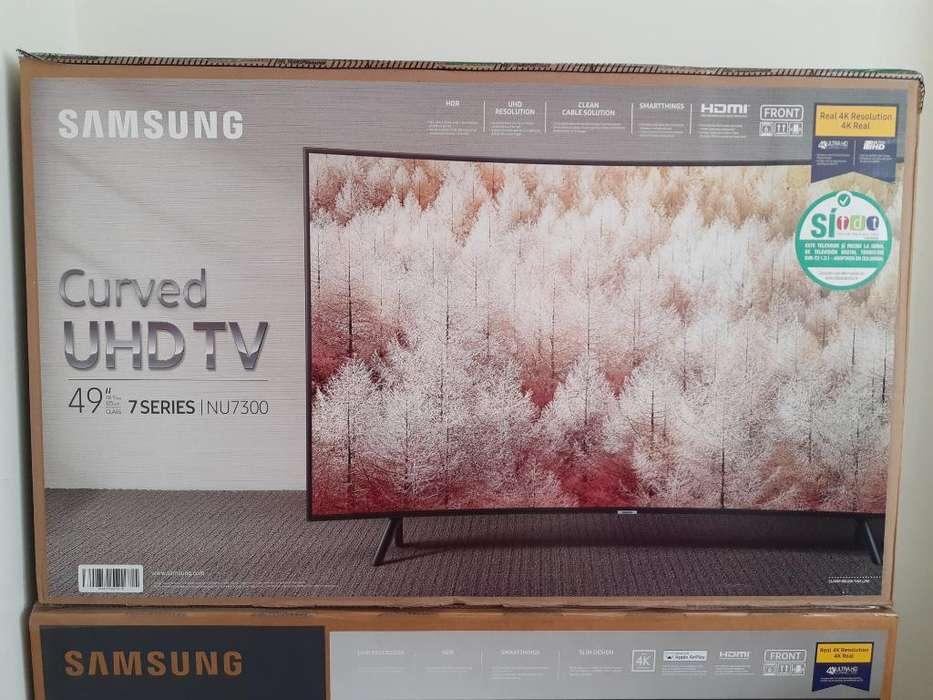 Tv's Samsung 49 Pulgadas Curvo 4k Uhd