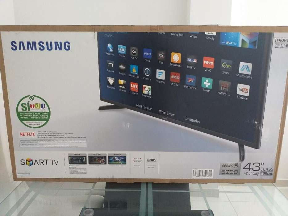 Smart Tv Full Hd Samsung 43 Pulgadas