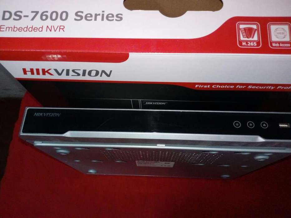 Nvr Hikvision 16 Canales
