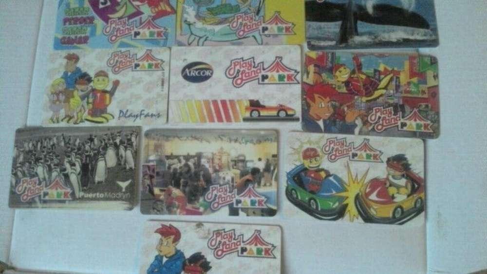 Tarjeta Magnéticas Arcade Playland Zacoa