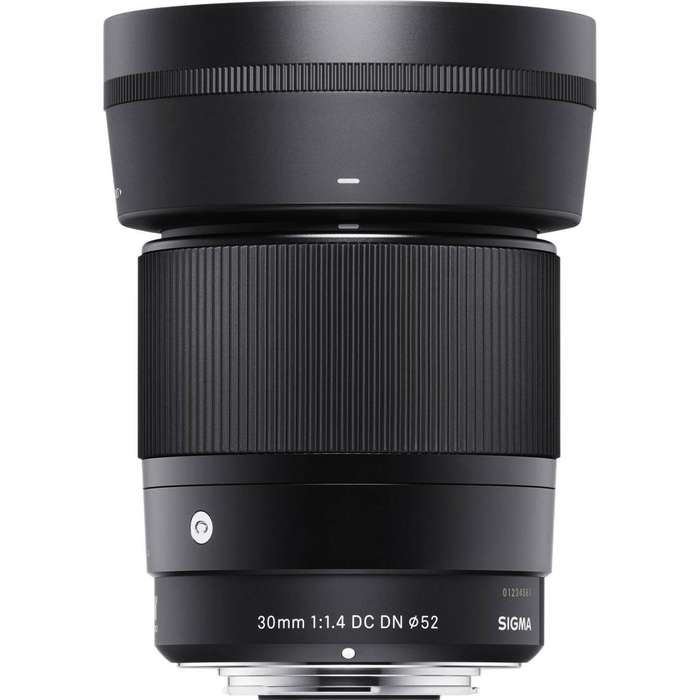 Lente Sigma De 30 Mm F1.4 Dc Dn Para Cámara Sony Montura E