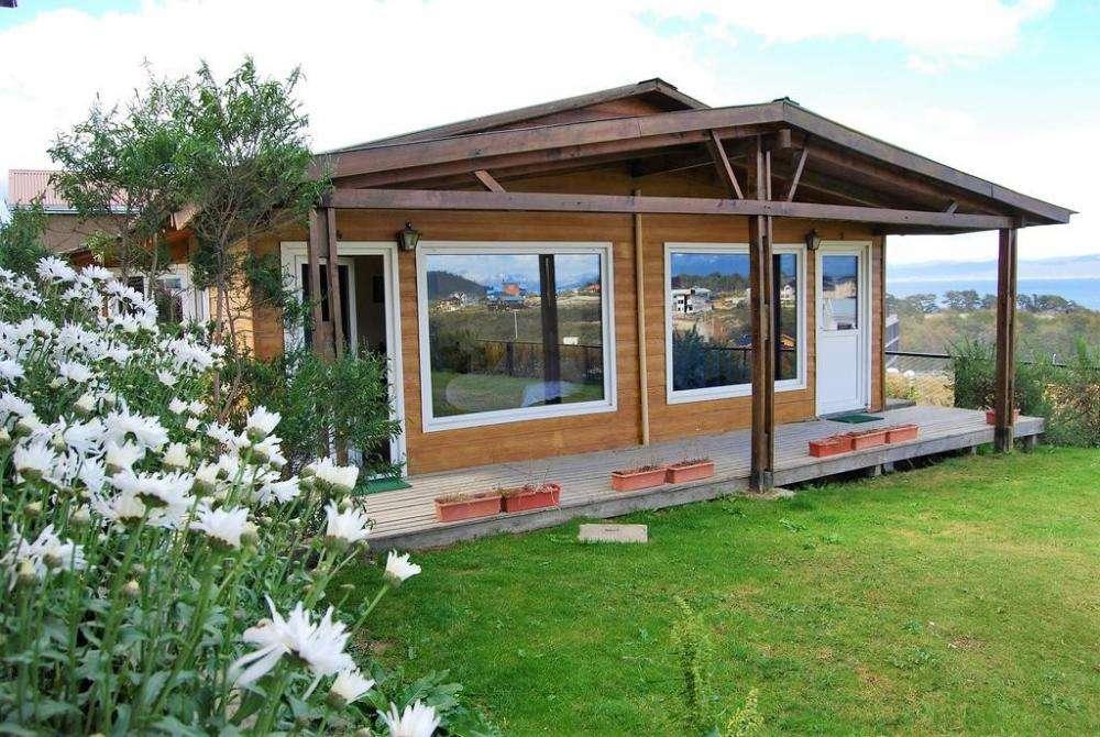 st89 - Cabaña para 3 a 5 personas con cochera en Ushuaia