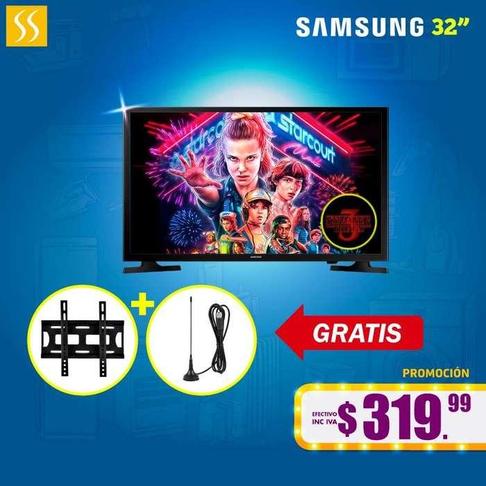 TV LED SAMSUNG 32 GRATIS ANTENA Y SOPORTE