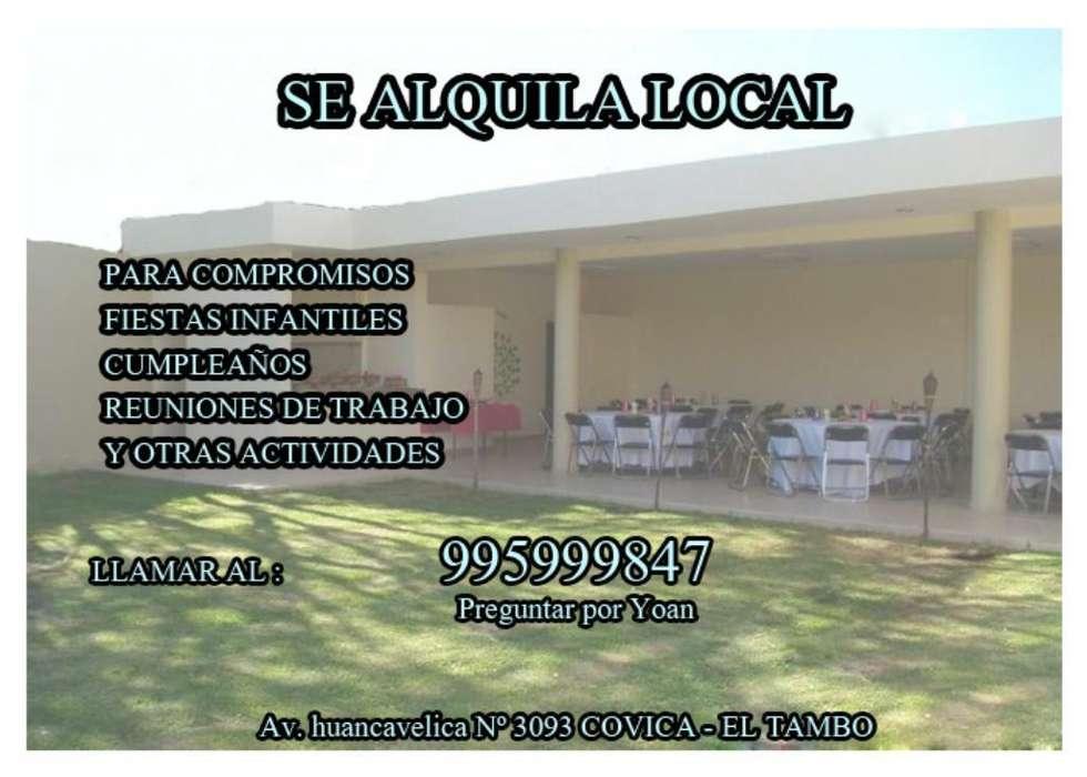Se Alquila Local