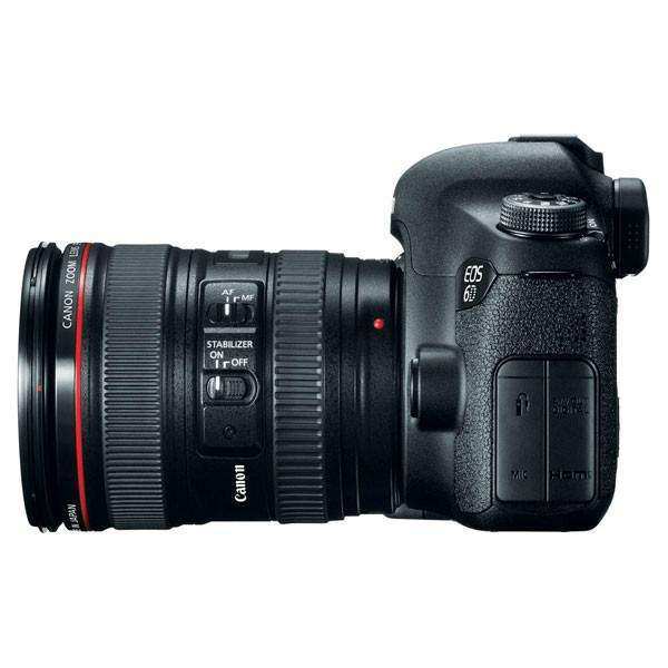 Canon 6D con lente 24105 IS USM
