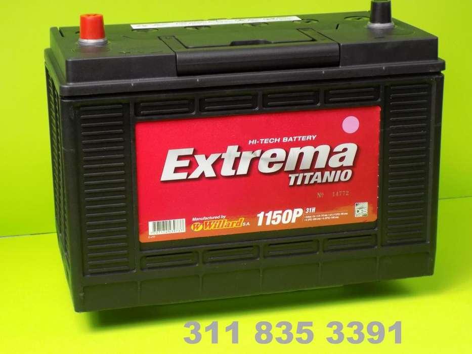 Baterías Carro 30H / 31H Cel. 3118353391 Borne o Tornillo Camión Tracto mula Maquinaria Plantas