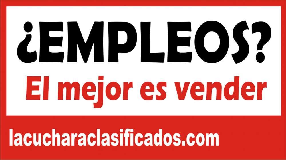 La cuchara clasificados busca berracos vendedores en Bogota Cundinamarca