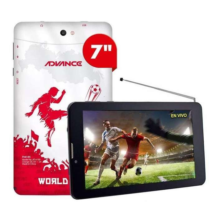 Tablet Advance Prime PR6145 7' Android 4.4 3G 8GB 1GB