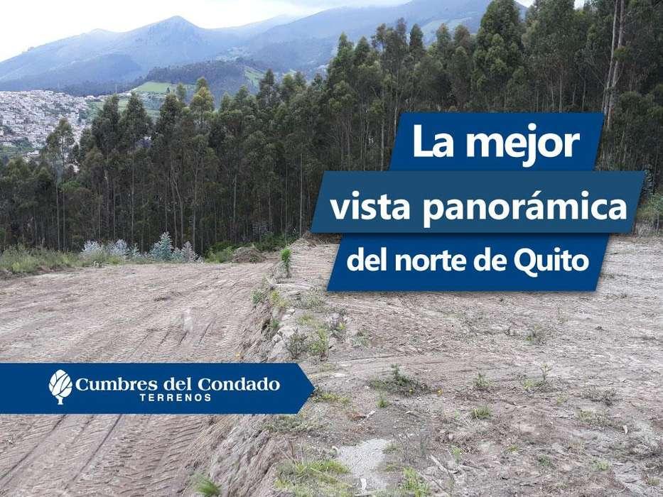 Terrenos de Venta en el Norte de Quito desde 200 metros