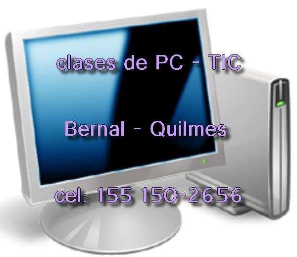 Clases cursos de Computacion PC para todas las edades en Bernal Quilmes 1551502656