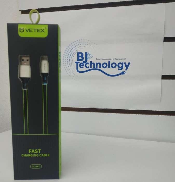 Cable Cargador Vetex Sc-401 iPhone 3,0