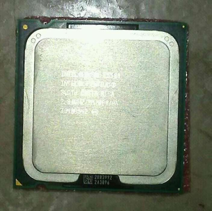 Procesador Intel E5500 2.8 Ghz, 800 Mhz.