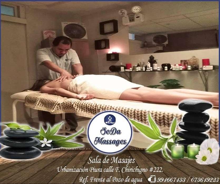 Sala de Masajes SeDa Massages Piura Cel: 991667133