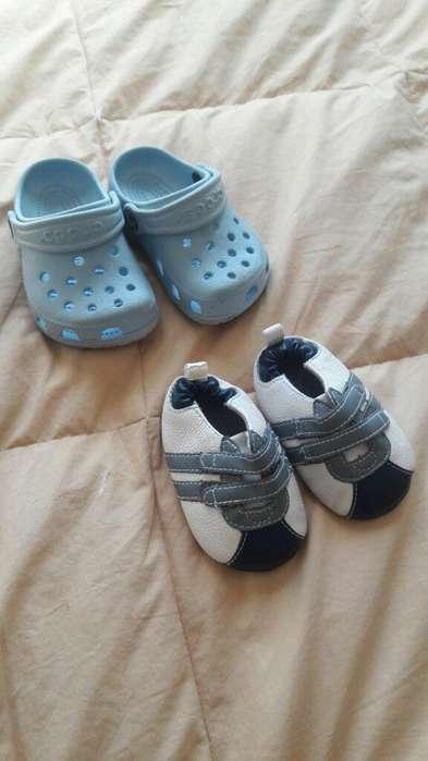 Zapatos Y Crocs Recien Nacido