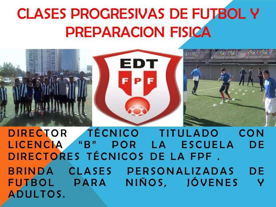 CLASES PROGRESIVAS DE FUTBOL