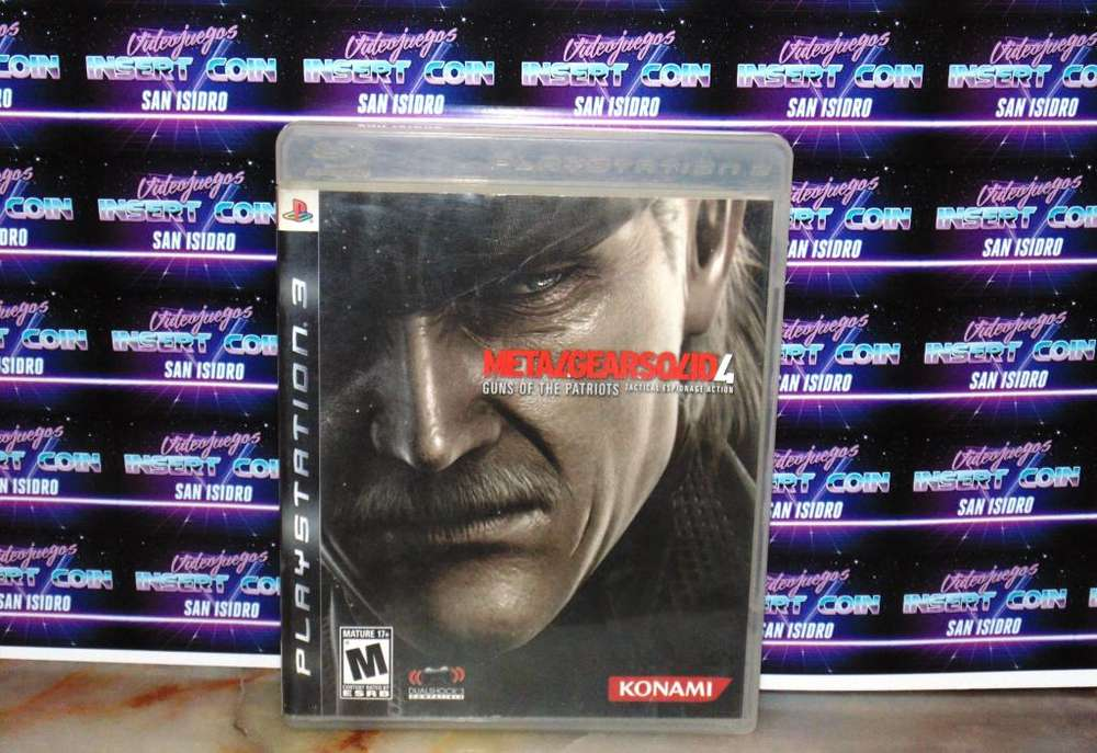 Metal Gear Solid 4 PS3 Juego Play Station 3