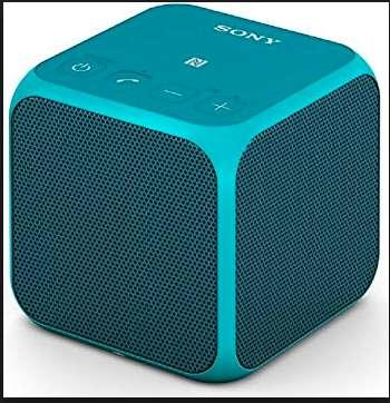 Parlante / Altavoz portátil Sony SRSX11 Altavoz portátil Bluetooth, NFC, 10 W Color Turquesa