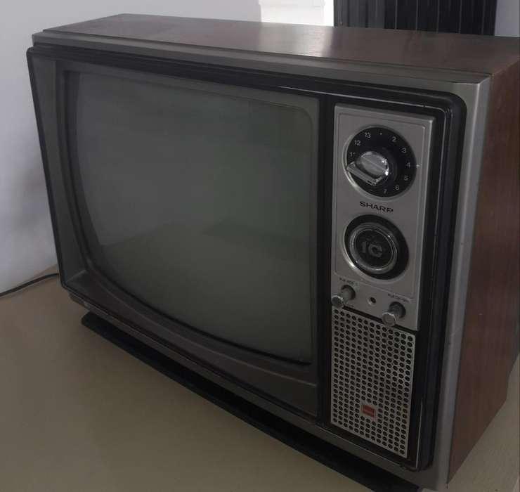Televisor Antiguo Funcionando