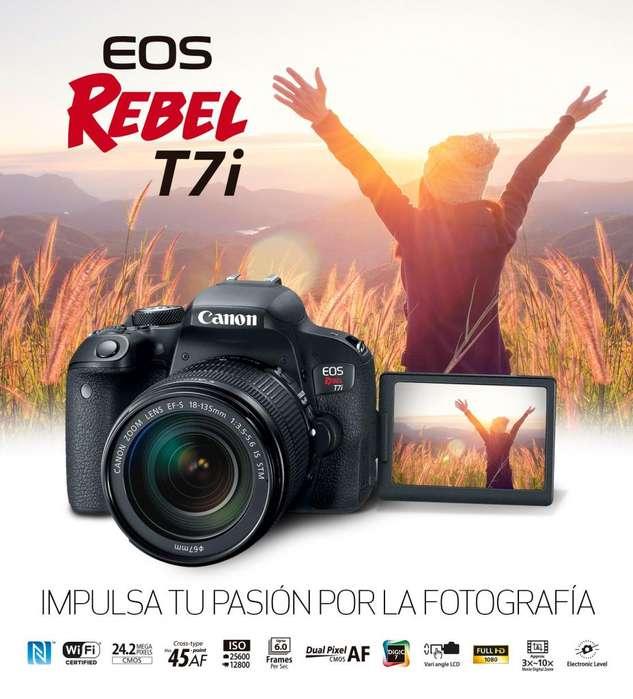 Camara EOS 800D REBEL T7i
