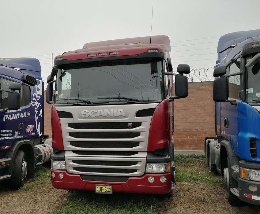 Camión Tracto Remolcador Scania R460 6x4 2014