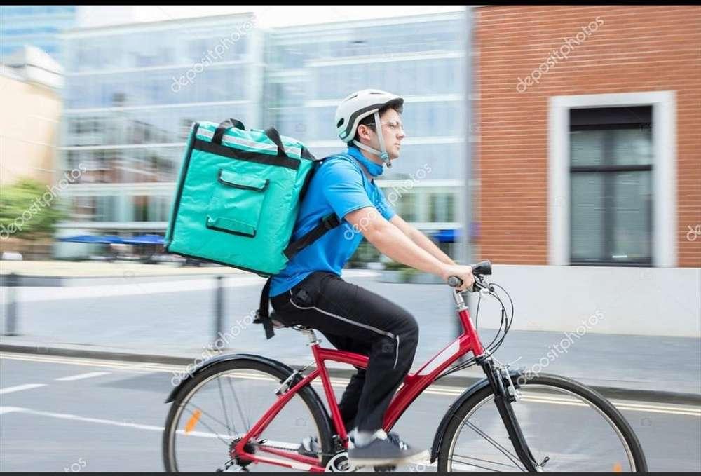 Repartidor con Bicicleta