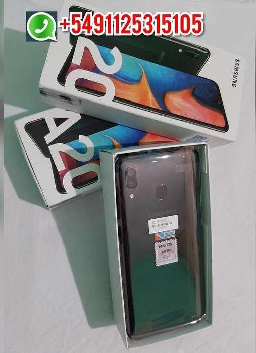 Samsung Galaxy A20, 32gb 3gb Ram Oferta