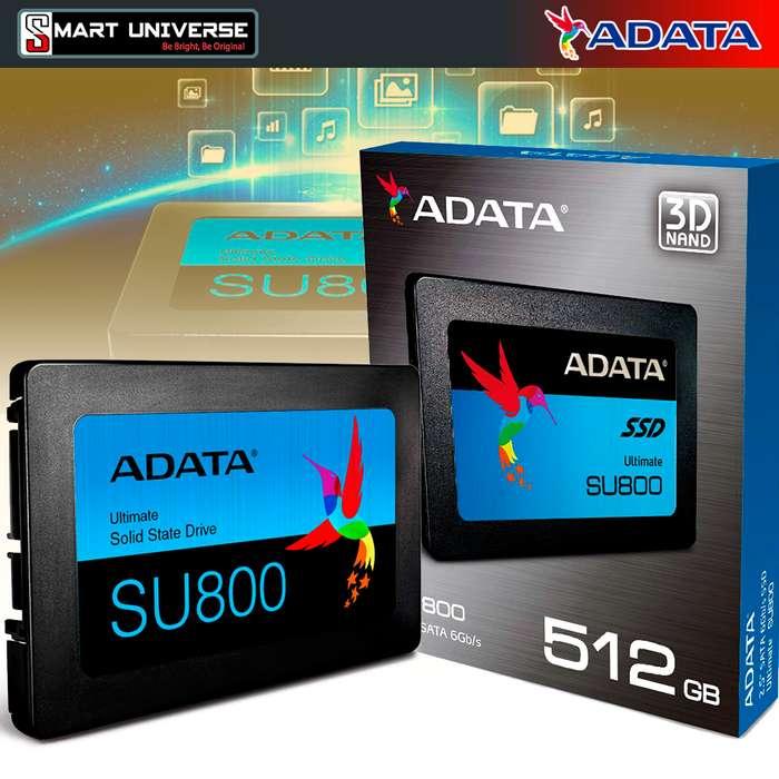 Disco Duro Solido SSD Adata Su800 512gb 3d Nand 560mb/s 2.5