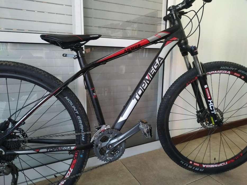 Bicicleta Mtb R29 Top Mega Armor