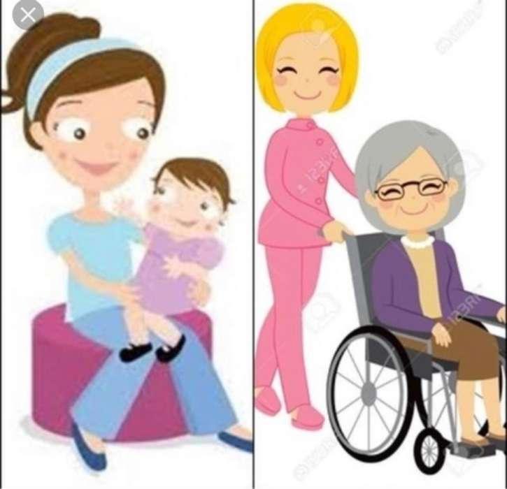 Cuidado de Niños Y Adulto Mayor