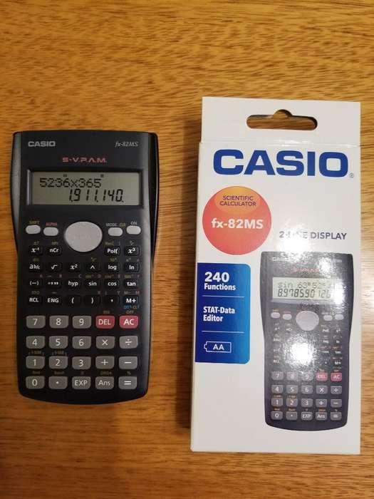 <strong>calculadora</strong> Casio Científica Fx-82ms
