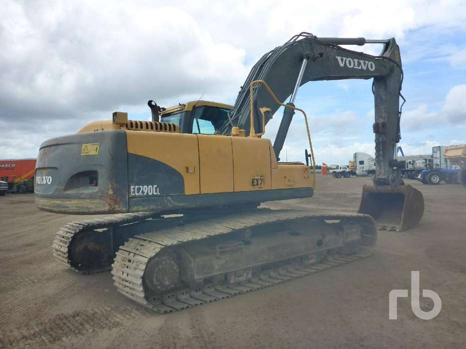 Excavadora Volvo Importacion Ec290cl