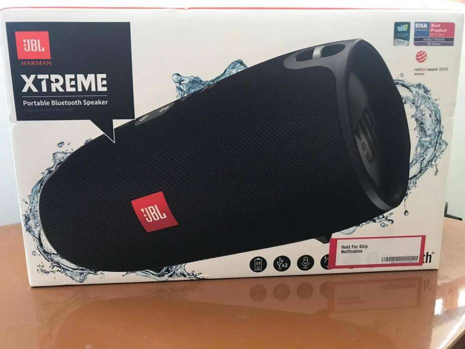 Parlante Portátil Jbl Xtreme Bluetooth 40w Negro
