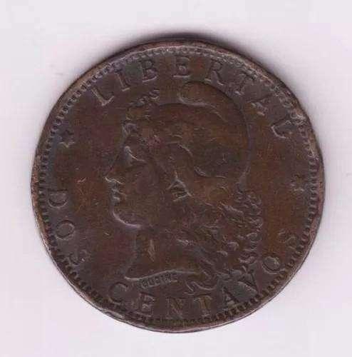 Vendo lote de monedas de 2 centavos año 1884-1993
