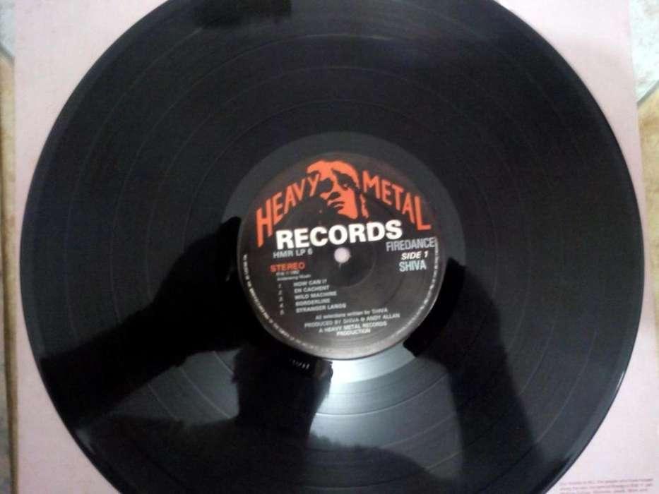 lp disco vinilo Rock banda Shiva
