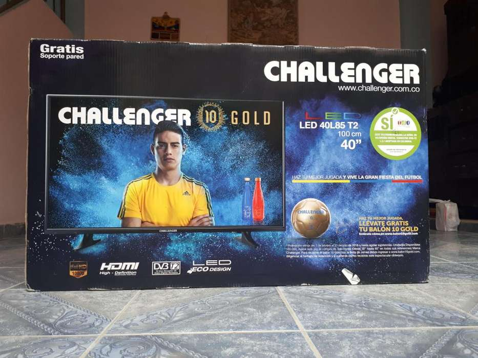 <strong>televisor</strong> Tv Challenger 40 Pulgadas