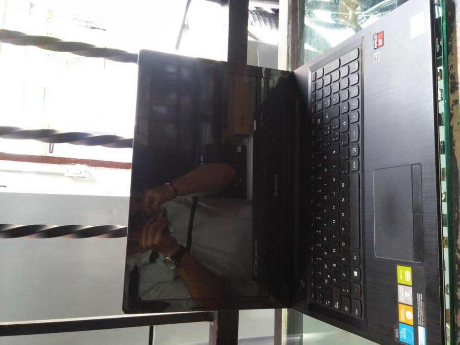 pc portatil lenovo amd a8 1 tera 8ram c/cargador 3 meses de garantia