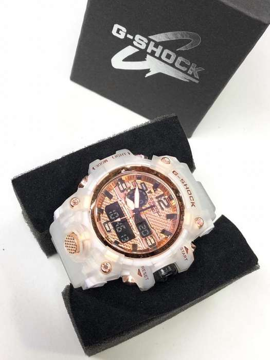 Reloj Casio G Shock Transparente 3