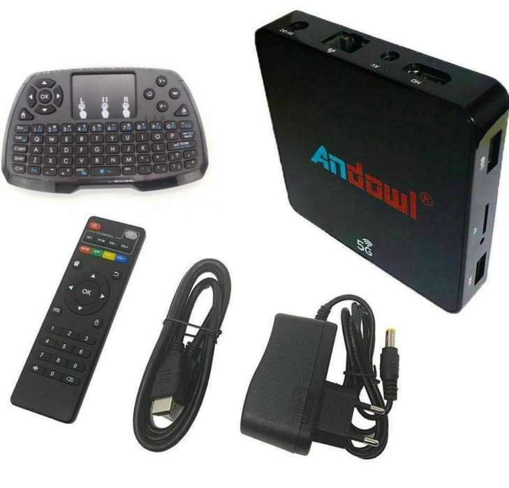 Smart Tv Box 4gb Ram 32gb con Teclado