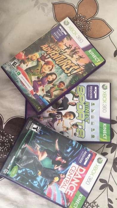 Pack Juegos Xbox360 Kinect