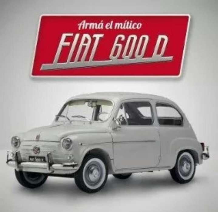 Coleccion Fiat 600 Salvat Y Otras